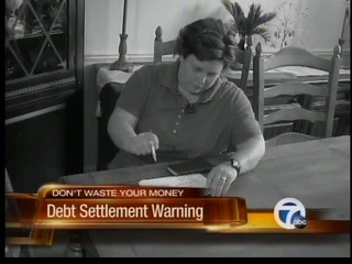 Debt settlement warning