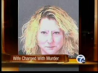Wife charged with murder