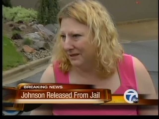 Johnson released from jail