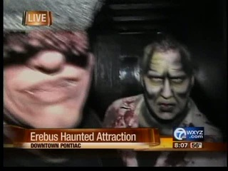 Erebus attracts hundreds of thrill seekers