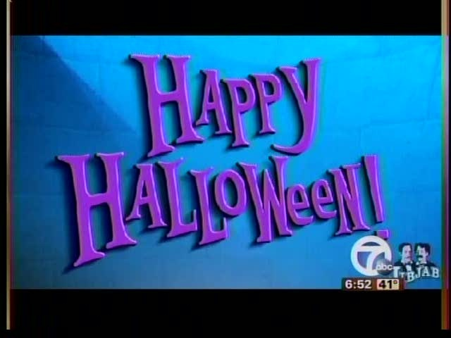 Action News Saturday Morning Monster Mash