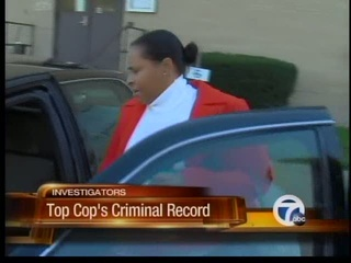 Top cop's criminal record