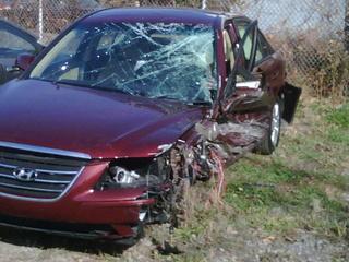 Car Accident On Lodge Freeway