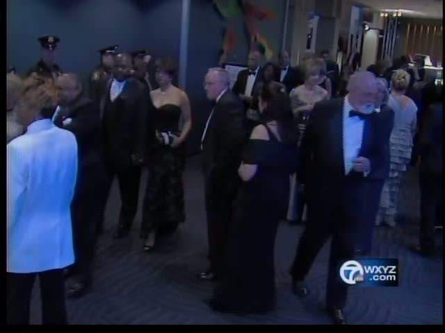 Detroit Celebrates During Fanciest Night Of The Year At