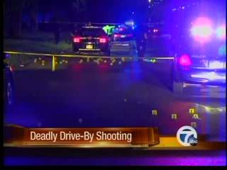 Deadly drive-by shooting