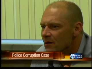 Testimony in police corruption case