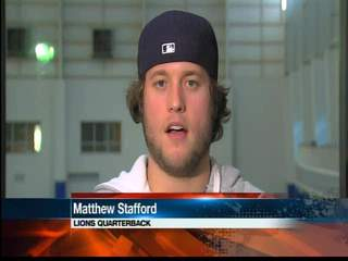Inside the Huddle with Matthew Stafford