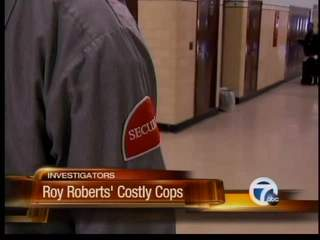 Roy Roberts' costly security