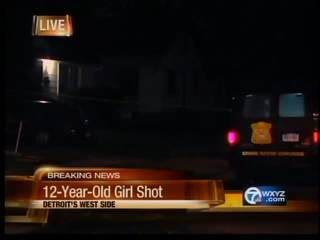 12 year-old shot and killed