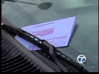 Parking ticket preview