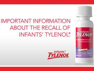 Infants Tylenol Recall