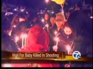 Vigil for 9-month-old killed