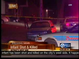 infant shot & killed on Detroit's West Side
