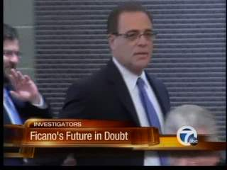 What would happen if Robert Ficano resigns?