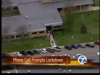 Phone call prompts school lockdown