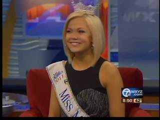 Miss Michigan Talks about the Fallen & Wounded Solders Fund