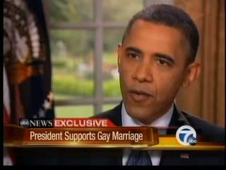 Reaction to President's support of gay marriage