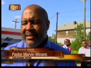 Marvin Winans carjacked