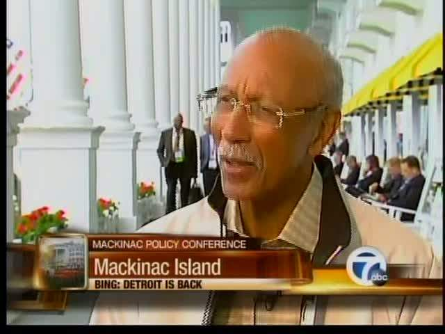 Mayor Bing on Mackinac