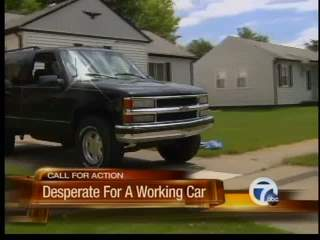 Desperate for a working car