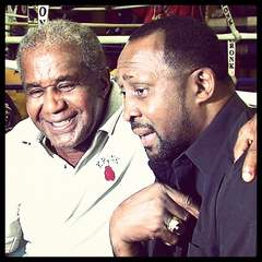 Emanuel Steward and Thomas Hearns