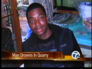 Man drowns in quarry