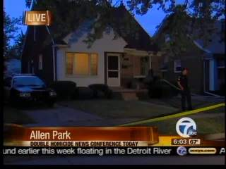 Victims found in riiver from Allen Park