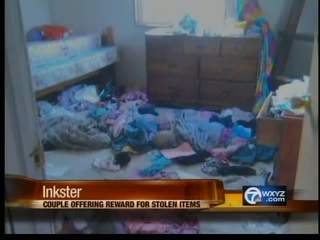 Thief breaks into family's home twice