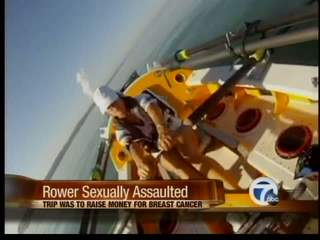 Woman sexually assaulted on row trip