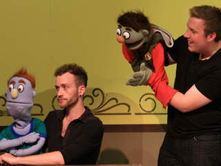 """Avenue Q"" at Farmington Players Barn 8/10-8/25"