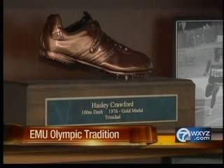 Eastern Michigan University Olympic tradition