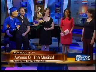 """Avenue Q"" the muscial"