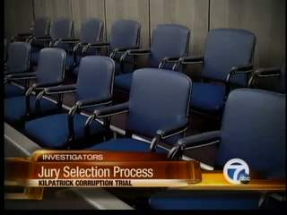 Jury selection in Kilpatrick trial