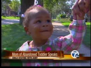 New details in abandoned toddler case