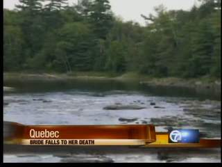 Bride drowns in Quebec