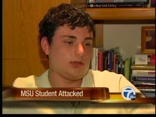 MSU student attacked