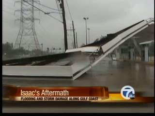 Isaac's aftermath, flooding continues