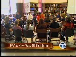 EAA's new way of teaching
