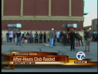 After Hours Club Raided