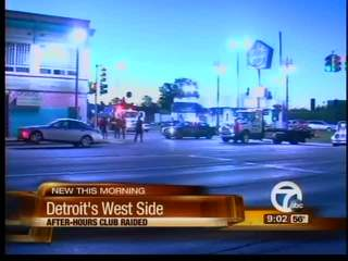Detroit after-hours raid