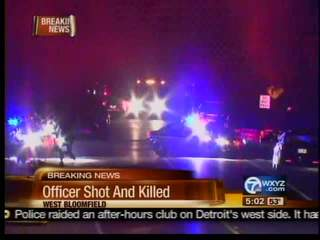 West Bloomfield officer shot and killed