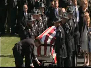 Funeral for officer O'Rourke
