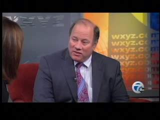 Mike Duggan talks to WXYZ-TV about possible mayor run