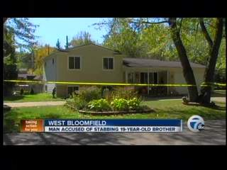 Police say man stabbed brother at home in West Bloomfield