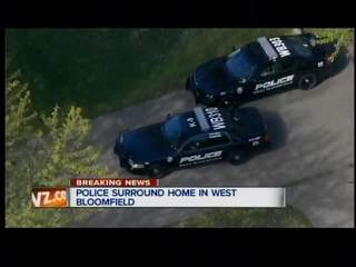 Police surround home in West Bloomfield