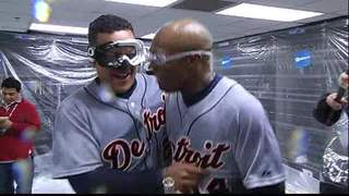 Tigers win ALDS Championship part I