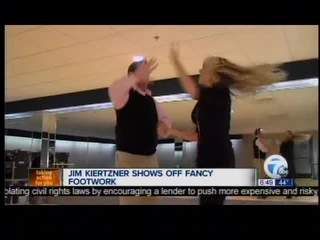Kiertzner on Dancing with local stars