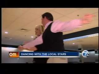 Kiertzner on Local Dancing with the Stars