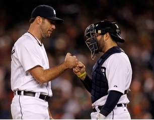 Justin Verlander and Alex Avila