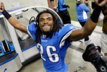 Lions OTA's begin without Louis Delmas